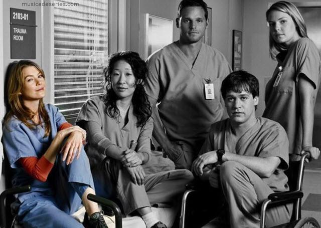 trilha sonora de Grey's Anatomy, músicas e cenas